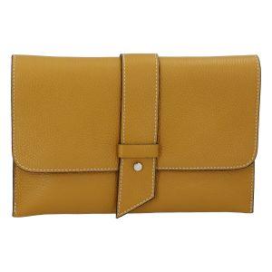 Luxusní dámská kabelka tmavě žlutá – ItalY Brother žlutá