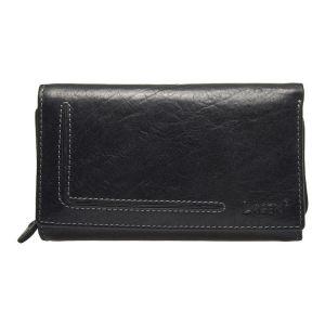 Dámská kožená peněženka Lagen Anitas – černá