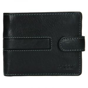 Pánská kožená peněženka Lagen Vander – černá