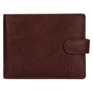 Pánská kožená peněženka Lagen Zdeno – hnědá