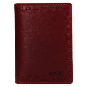 Dámská kožená peněženka Lagen Martinas – vínová