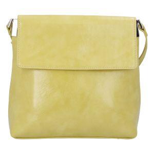 Dámská crossbody kabelka žlutá – DIANA & CO Buzzy žlutá