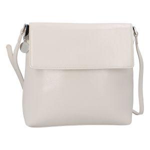 Dámská crossbody kabelka světle béžová – DIANA & CO Buzzy béžová