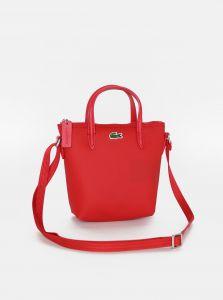 Červená dámská crossbody kabelka Lacoste
