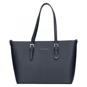 Dámská kabelka Flora & Co Denisa – tmavě modrá