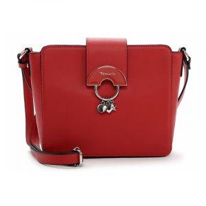 Dámská crossbody kabelka Tamaris Birget – červená