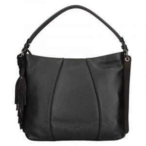 Dámská kožená kabelka Hexagona Kamila – černá