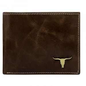 Pánská kožená peněženka Wild Buffalo Bohuš – hnědá