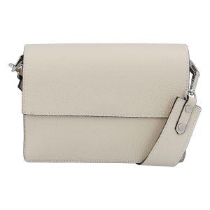 Elegantní kožená kabelka béžová – ItalY Kenesis béžová