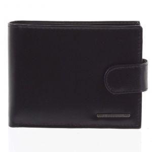 Pánská kožená peněženka černá – Bellugio Caessar černá