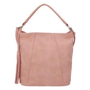 Módní dámská kabelka růžová – Carine Baylee růžová