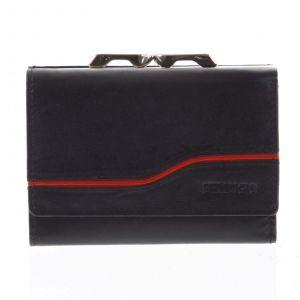 Dámská kožená peněženka černá – Bellugio Tarea černá