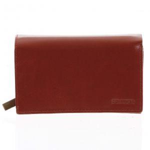 Dámská kožená peněženka červená – Bellugio Abada červená