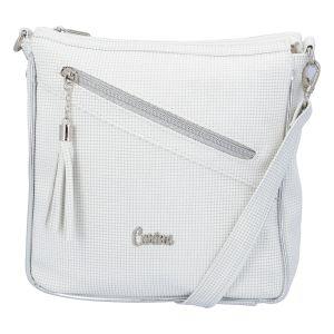 Dámská crossbody kabelka bílá – Carine C300 bílá