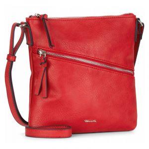 Dámská crossbody kabelka Tamaris Alezia – červená