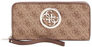 Guess Dámská peněženka Open Road Slg Large Zip Around SWSG71 86460 brown