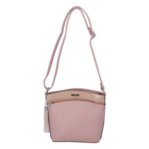Dámská crossbody kabelka růžová – Silvia Rosa Barbie růžová