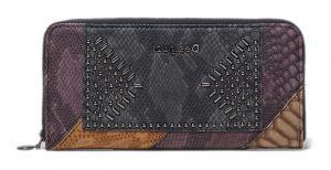 Desigual Dámská peněženka Mone Dark Phoenix Zip Around 20WAYP126000