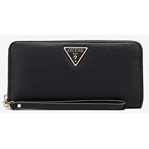 Guess Dámská peněženka Becca Slg Large Zip Around SWVG77 42460 Black