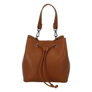 Dámská kožená kabelka světle hnědá – ItalY TianJin hnědá