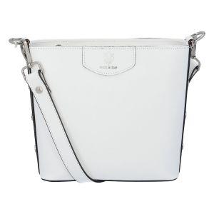 Dámská kožená kabelka bílá – ItalY Koloseum bílá
