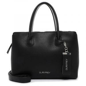 Dámská kabelka Suri Frey Ruth – černo-stříbrná