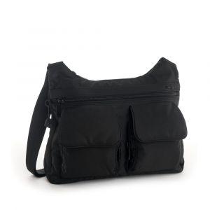 Hedgren Dámská kabelka přes rameno RFID Prarie – černá