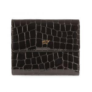 Braun Büffel Dámská kožená peněženka Verona 40144-320 – lesklá černá