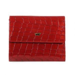 Braun Büffel Dámská kožená peněženka Verona 40144-320 – lesklá červená