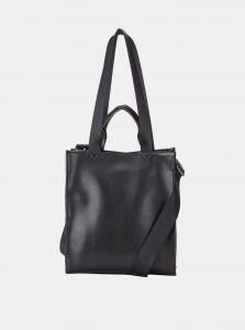 Černá kožená kabelka Smith & Canova