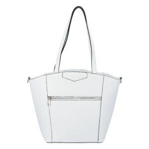 Dámská kožená kabelka přes rameno bílá – ItalY Zhoushan bílá