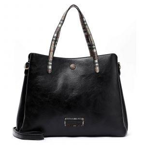 Dámská kabelka Emily & Noah Gisel – černá