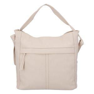 Dámská kabelka přes rameno béžová – DIANA & CO Franzina béžová