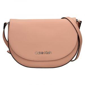 Dámská crossbody kabelka Calvin Klein Stacy – růžová