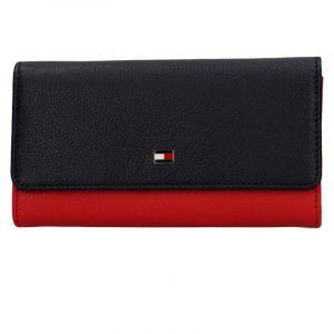 Dámská peněženka Tommy Hilfiger Yolanda – červeno-modrá