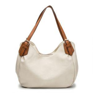 Dámská kabelka Mergy – krémová
