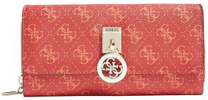 Guess Dámská peněženka Jensen Slg Lrg Clutch Orgnzr SWSG78 76620 red-red