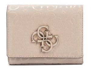 Guess Dámská peněženka Chic Shine Slg Small Trifold SWSG77 46430 Blush
