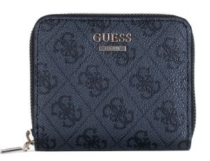 Guess Dámská peněženka Cathleen Slg Small Zip Around SWSG77 37370 Coal