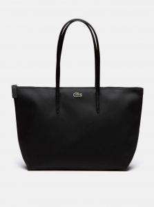 Černý shopper Lacoste