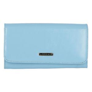 Dámská kožená peněženka světle modrá – Lorenti Noragen N modrá