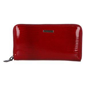 Dámská kožená lakovaná peněženka červená – Lorenti Cobala RS červená