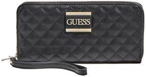 Guess Dámská peněženka Kamryn Slg Large Zip Around SWQD66 91460 black-bla
