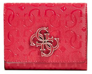 Guess Dámská peněženka Chic Shine Slg Small Trifold SWSG77 46430 berry-ber