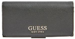 Guess Dámská peněženka G Chain Slg File Clutch SWVG77 39590 black-bla
