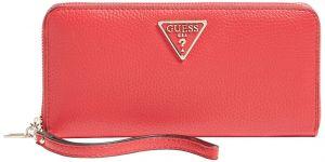 Guess Dámská peněženka Becca Slg Large Zip Around SWVG77 42460 red-red