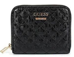 Guess Dámská peněženka Janay Slg Small Zip Around SWQG77 38370 Black