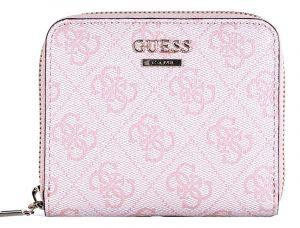 Guess Dámská peněženka Cathleen Slg Small Zip Around SWSG77 37370 Cherry
