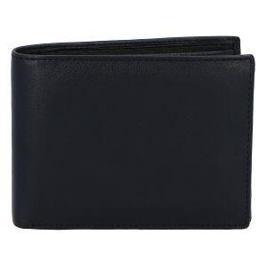 Kožená pánská černá peněženka – ItParr černá