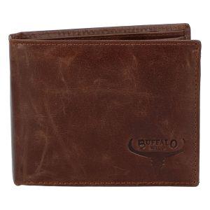 Pánská kožená peněženka hnědá – WILD Gogh hnědá